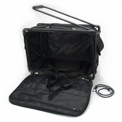 TUTTO Machine On Wheels Case 23''X15''X12''-Black by Tutto