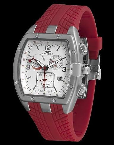 Sandoz 81257-42 - Reloj Fernando Alonso Caballero Rojo: Amazon.es: Relojes