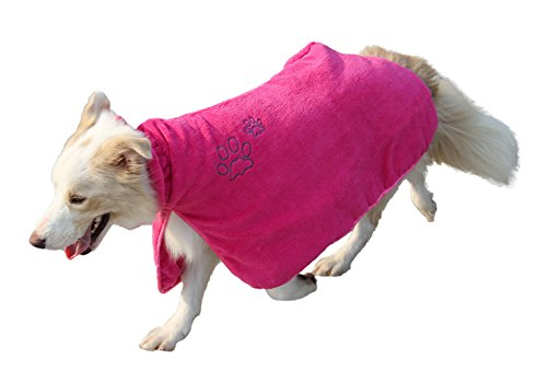 Dog Bath Robe Clothes - 7