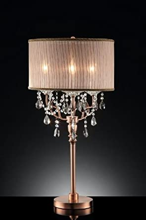 35 rosie crystal table lamp chandelier table lamp amazon 35 rosie crystal table lamp aloadofball Images