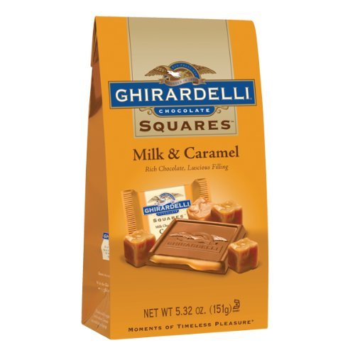 Ghirardelli Chocolate Caramel Squares Chocolates
