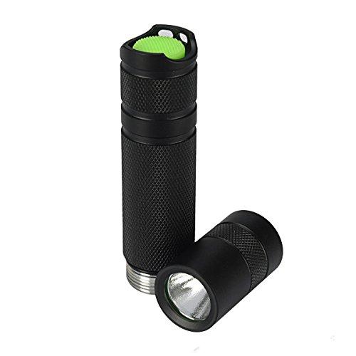 Nichia 3W 365nm UV High Power LED Flashlight 1 x 18650 (Color Titanium gray) by LEEPRA (Image #6)