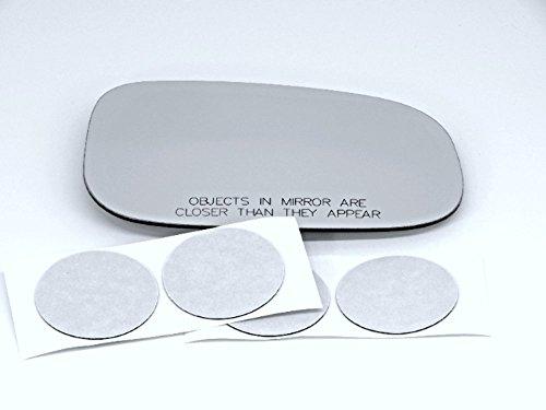 (08-13 Volvo C30,C70, 07-11 S40, S80, 07-09 S60, 07-10 V50, V70, Right Passenger Convex Mirror Glass Lens)