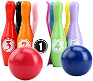 Fun Outdoor Games for Kids,Indoor Games,Outdoor Giant Lawn Bowling Games,for Family Kids and Adults Backyard S