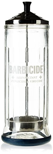 BARBICIDE Disinfecting Jar Perfect For Salons Barbers