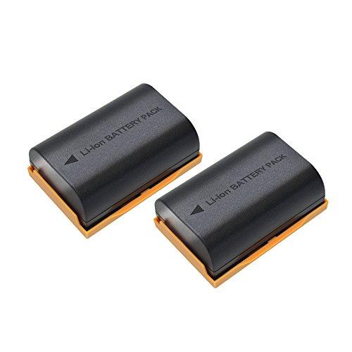 Bonacell 2 Pack 2600mAh Replacement LP-E6/LP-E6N Battery for Canon EOS 70D, EOS 80D, EOS 60D, 60Da, EOS 5D Mark II, EOS 5D Mark III, 5D Mark IV, EOS 5DS, EOS 5DS R, EOS 6D, EOS 7D, 7D Mark II Camera