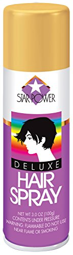 Loftus International Star Power Fun Colors Studio Costume Blonde Hairspray, 3 oz - International Costumes