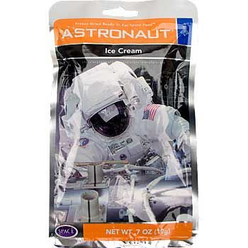 (Backpacker's Pantry Astronaut Freeze Dried Neapolitan Ice Cream, One Serving)