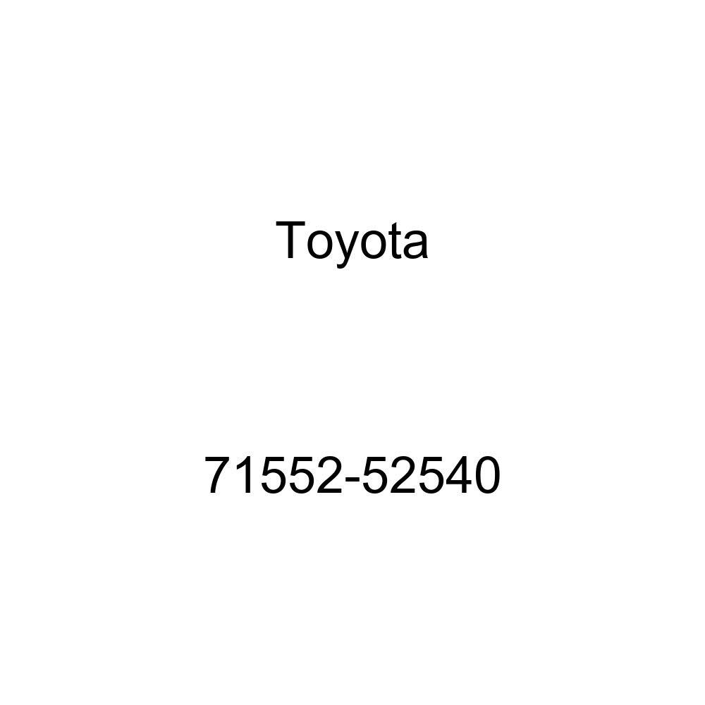 TOYOTA Genuine 71552-52540 Seat Back Pad