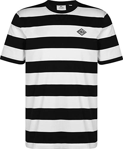 Rayé shirt Noir Lacoste L T Blanc ve qSSY8wT