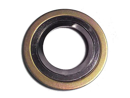 """Sur-Seal 9000IR1321GR1500X6 Turquoise Band with Gray Stripe Teadit Spiral Wound Gasket with 321SS Inner Ring, 1"""" Pipe Size x 1500# x (321SS/FG) for Applications with High Temperature Variations and/or Pressure Variations"""