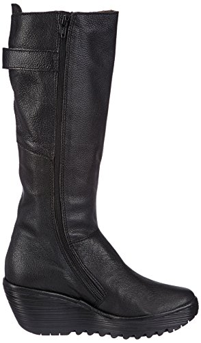 Boots Fly Yoa Mousse Black Women's Black London 8ITIrqnO