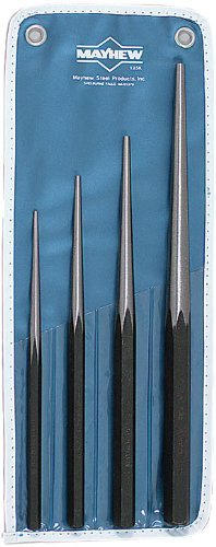 - Wright Tool 9664 Mayhew #125K Line Up Punch Kit, 4-Piece by Wright Tool