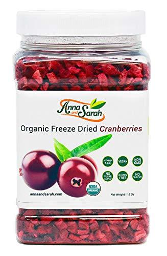 Anna and Sarah Organic Freeze Dried Cranberries 1.9 Oz