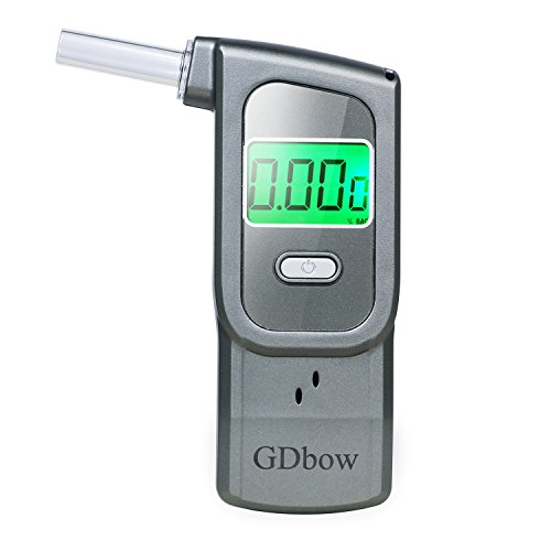 GDbow Portable Breathalyzer Alcohol Tester Recording 32 Testing Results with 5 Mouthpieces for Personal Use -Lead by GDbow (Image #9)