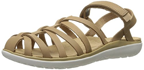 Teva Women's Terra-Float Stella Lux Sandal, Naturale, 37.5 EU/4.5 UK