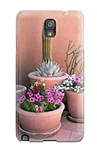 Awesome ZGnYUnt7771kLPOa Marie K Floyd Defender Tpu Hard Case Cover For Galaxy Note 3- Desert Blooms
