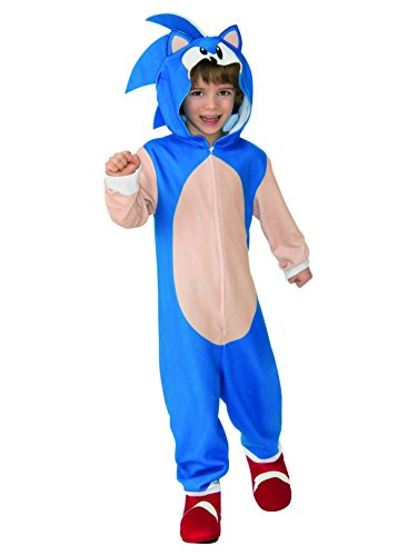 Rubie's Child's Sonic Oversized Jumpsuit Costume, Small