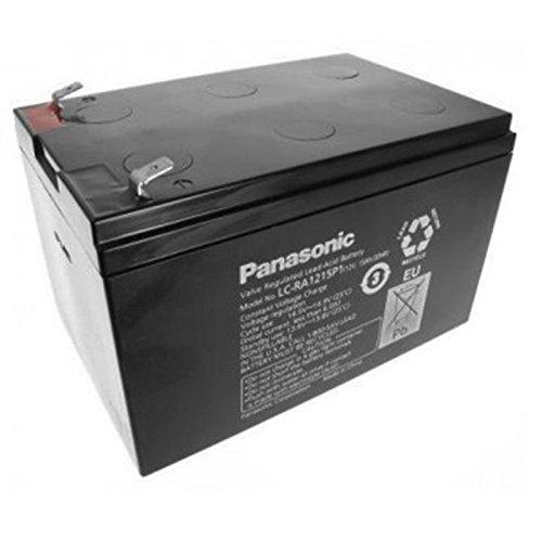 Bleiakku Panasonic Industrial LC-RA1215P1 für USV Anlagen, Notbeleuchtung, Alarmanlagen - VDS-zugelassen - PB 12V 15000mAh - Akku-King