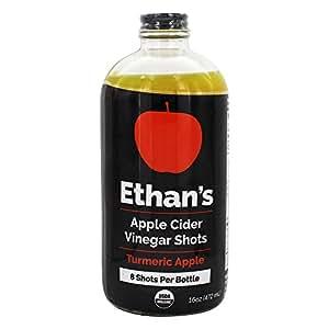 Amazon.com : Ethans, Vinegar Shot Apple Cider Turmeric