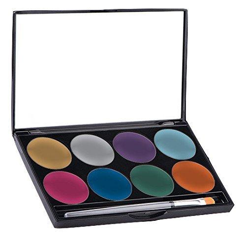Paradise 8 Color Palette/Face Paint Kit (Metallic)