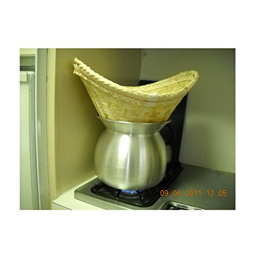 sticky-rice-steamer-pot-and-basket-imagination-and-design-is-ghost-mask-on-hallooween-day-home-decor