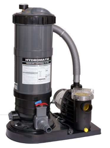 Blue Wave 120-Square Feet Cartridge Filter System with 1.5 HP Pump (System Cartridge Filter Pool)