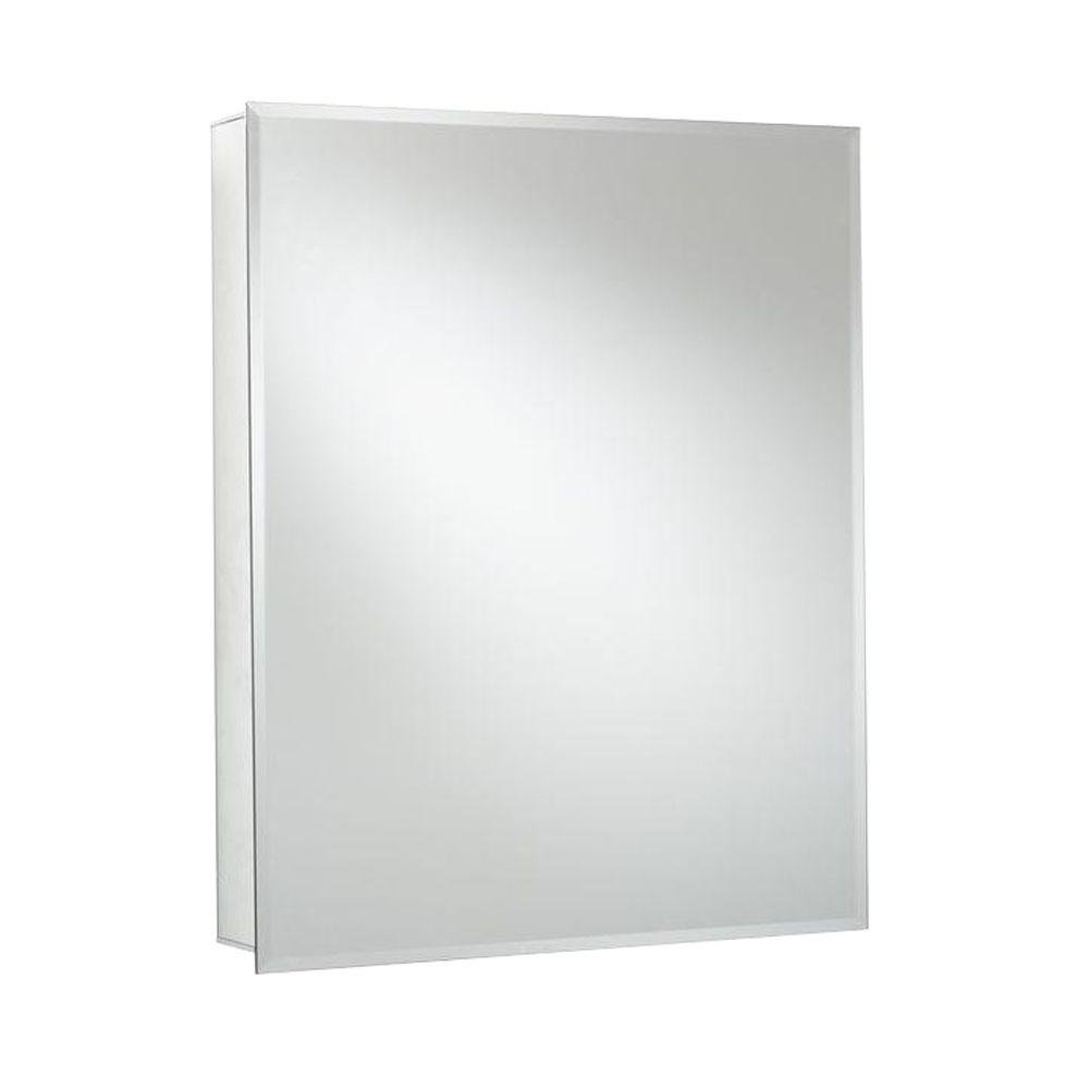 Croydex Langley 26-Inch x 20-Inch Recessed or Surface Mount Medicine ...