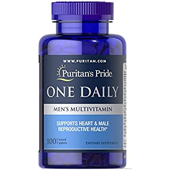 Amazon Com Puritans Pride One Daily Mens Multivitamin