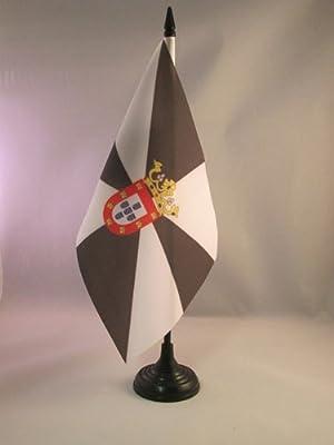 AZ FLAG Bandera de Mesa de Ceuta 21x14cm - BANDERINA de DESPACHO ESPAÑOLA - ESPAÑA 14 x 21 cm: Amazon.es: Hogar