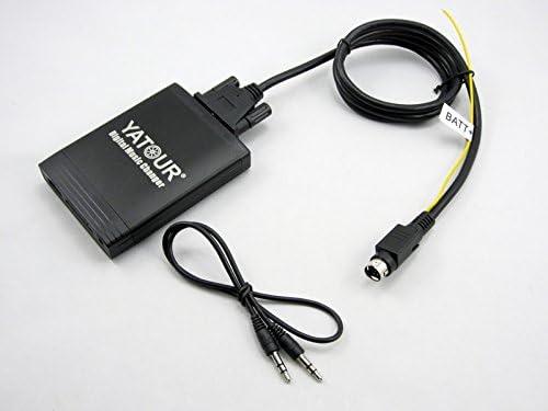Radio for Volvo sc Optional YATOUR Car Digital Music Changer MP3 Adaptor Interface Auto Stereo USB SD AUX Bluetooth