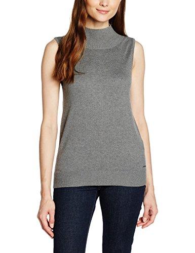 s.Oliver, Camiseta de Tirantes para Mujer Grau (pewter 9730, Grau)