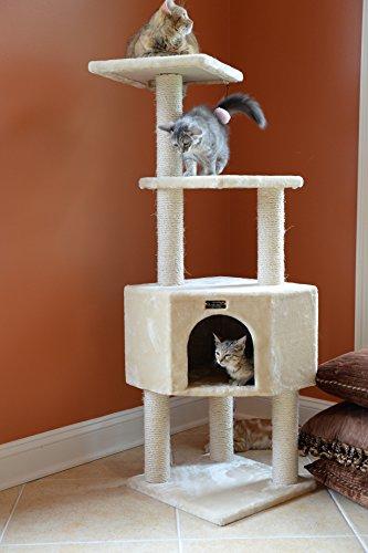 Armarkat Classic Cat Tree Beige/14 D x 18