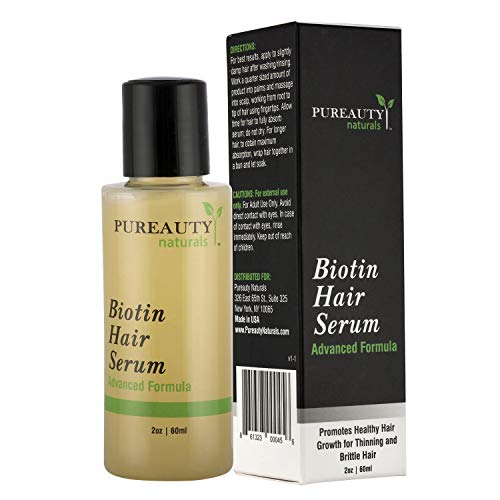 Biotin Growth Serum Pureauty Naturals product image