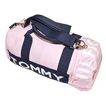 Tommy Hilfiger Mini Logo Duffle Bag (Pink)