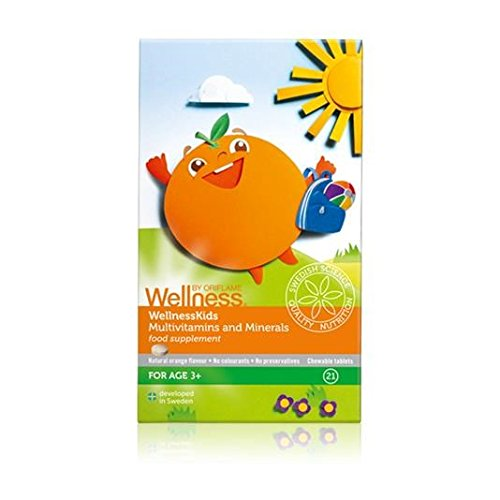 WELLNESS BY ORIFLAME Multivitaminas y Minerales para Niños: Amazon.es: Hogar