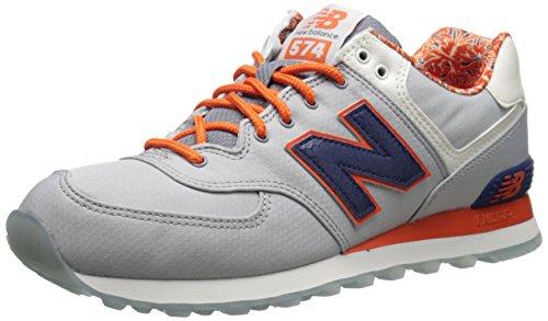 Nieuw Evenwicht Heren Ml574 Luau Verzameling Sneaker Grijs / Navy