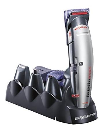 BaByliss MULTIGROOM X10 - Cortapelos para cara, cabello y cuerpo, con cuchillas profesionales W