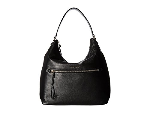 Cole Haan Women's Delilah Hobo Black Handbag