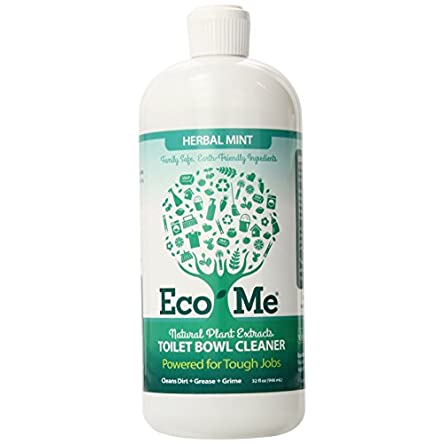 Eco-me Natural Powerful Toilet Bowl Cleaner, Clear,...