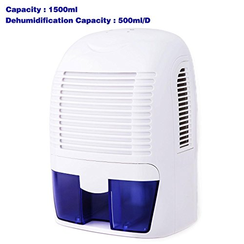 Rapesee Home Small Portable Dehumidifier for Basement, Electric Mini Damp Air Dehumidifier for Whole House, Compact and Energy Efficient by Rapesee