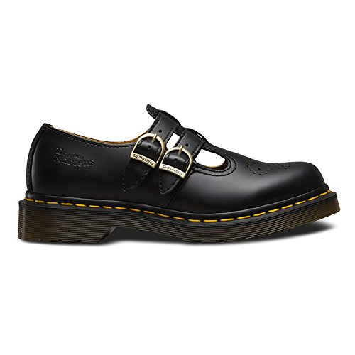 Dr.Martens Womens 8065 Mary Jane Black Leather Shoes 8.5 US by Dr. Martens
