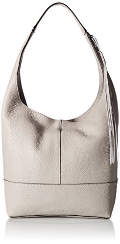Rebecca Minkoff Unlined Slouchy Hobo with Whipstich, Putty