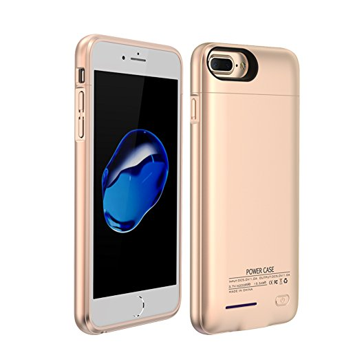 - Balleay Art Battery Charging Case Wireless 4200Mah Portable Cover Charger Compatible Power Bank Battery Case with for iPhone 7/7 Plus /6 Plus