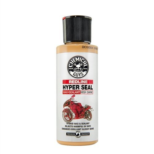 Chemical Guys MTO10504 Moto Line   Redline Hyper Seal High Shine Wax and Sealant for Motorcycles, 4 fl. oz, 1 Pack
