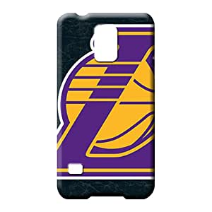 samsung galaxy s5 Abstact Protection For phone Fashion Design cell phone carrying covers losangeles lakers nba basketball