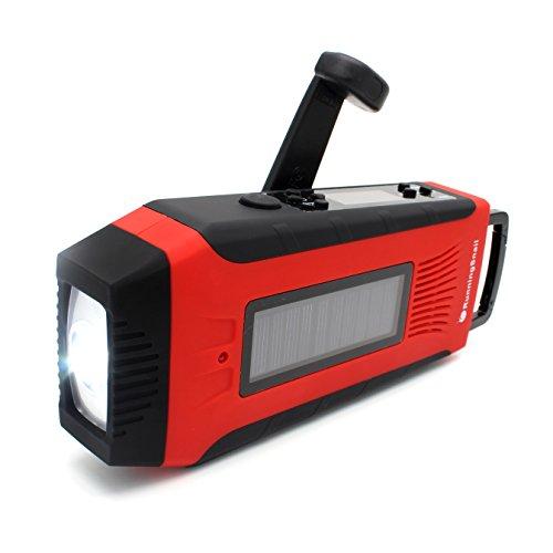 RunningSnail-Emergency-Solar-AMFMNOAA-Digital-Weather-Radio-with-3W-LED-Flashlight-SOS-Alarm-2000MAh-Power-Bank-for-Hurricane-Storm-Earthquake-Camping-Hiking