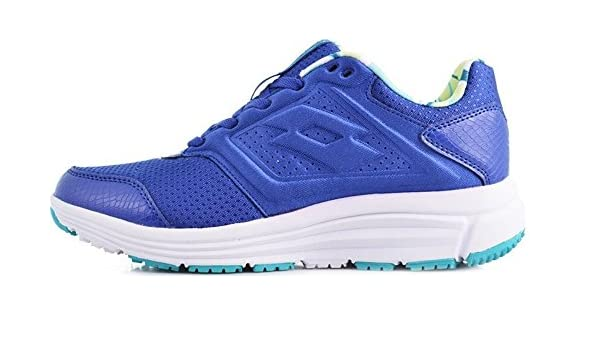 Lotto Love Ride AMF W, Zapatillas de Running Mujer, Azul / Blanco (Blu Shv / Wht), 39 EU: Amazon.es: Zapatos y complementos