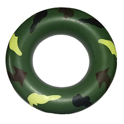 LLMLCF - Tubo de natación Hinchable con Pintura Verde Verano/Azul ...