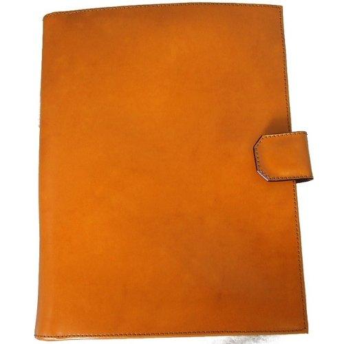 Pratesi Italian Leather Andrea del Sarto - A4 Portfolio, Mustard